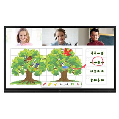 LG 75TR3BF-B Digital Signage Interactive Information Display
